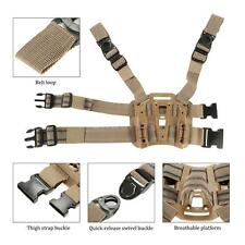 Tactical Army Pistol Gun Drop Leg Thigh Holster Pouch Holder Adjustable Y9I3