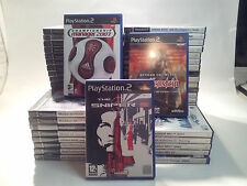 PlayStation2 (PS2) Game Multi Listing from £1.50