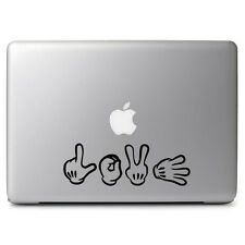 Mickey Mouse Hands Love Decal Sticker for Car Window Wall Decor Macbook Laptop