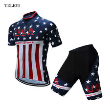 Team Mens Ropa Ciclismo Outdoor Wear Cycling Bike Short Sleeve Clothing Bicycle