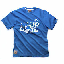 Scruffs Vintage Work T-Shirt, Short Sleeved Summer Blue
