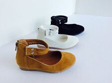 New toddler basic round toe  ballet flats slip on loafer shoes   Size 5 to 10
