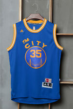 Golden State Warriors #35 Kevin Durant Blue Basketball Jersey (Size: S - XXL)