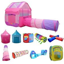 Various Portable Pop Up Tunnel Playhouse Ball Pit Tent Kids Indoor Outdoor Toy