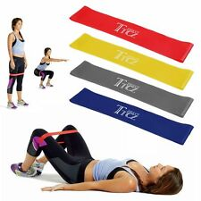 Training Resistance Band Loop Power Gym Sports Fitness Exercise Yoga WORKOUT