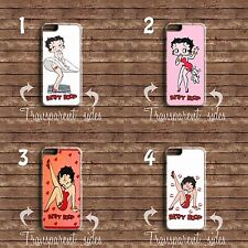 BETTY BOOP CARTOON Hard Phone Case Cover for iPhone 6s 7 7 Plus 5 5s & Samsung