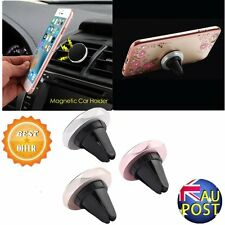 Universal Auto Phones Holder Magnetic Car Air Vent Mount Mobile Phone Stand AU