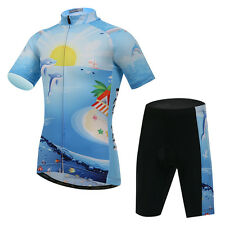 Hot Children Sports Bike Cycling Jersey Tops Shorts Pants Suits Bicycle Clothing