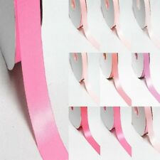 """5 Yards Double Sided Discount Satin Ribbon 3/4"""" /19mm. Pink s"""