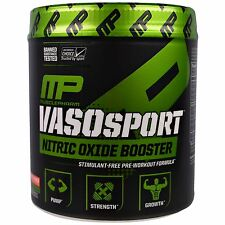 MUSCLE PHARM VASOSPORT - BOTH SIZES - MUSCLE GAIN & NITRIC OXIDE BOOST + SAMPLE