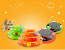 Motion Cat Toy Cat Chase Toy Kitten Turntable Interactive Pet Training