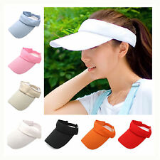 Fashion Unisex VISOR Sun Hat Cap Baseball Golf Tennis Sport Casual Adjustable