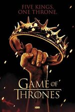New Game of Thrones Five Kings One Throne GoT Maxi Poster
