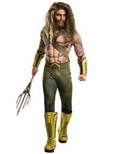 Aquaman Deluxe Muscle Chest Superhero Batman Vs Superman Men Costume