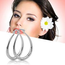 New Unique Fashion Exquisite Silver Plated Woman Lady Earrings Modern Jewelry PY