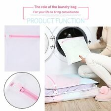 Laundry Travel Bag Thicken White Mesh Net Baskets Household Clothes Wash Bag ZX