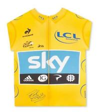 Bradley Wiggins Signed Tour de France Photos & Yellow Jerseys Official TDF 2012