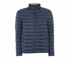 Puffa Men's Daley Padded Quilted Jacket Navy, BRAND NEW