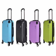 ABS Hard Shell Travel Luggage Waterproof Suitcase 4 Wheel Spinner Trolley Case