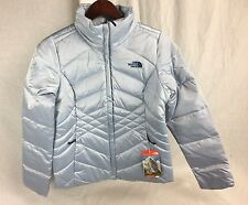 NEW THE NORTH FACE WOMENS ACONCAGUA JACKET ARCTIC ICE 550 FILL DOWN INSULATED