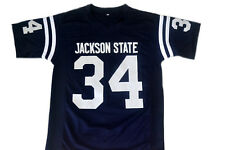 Walter Payton #34 Jackson State Men New Football Jersey Navy Blue Any Size