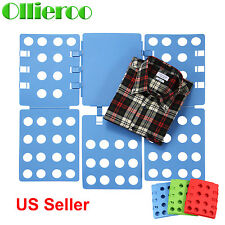 Ollieroo T Shirt Clothes Folder Large Fast Laundry Organizer Folding Board Adult
