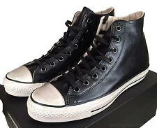 Converse John Varvatos Burnished Leather Hi All Star Chuck Taylor BLACK 147364C