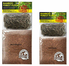 EXO TERRA BAMBOO FOREST FLOOR VIVARIUM REPTILE SUBSTRATE DUAL LAYER 2 SIZES NEW
