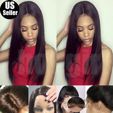 Chic Brazilian Virgin Human Hair Wig Silk Top Base Full Lace Wig Lace Front Wigs