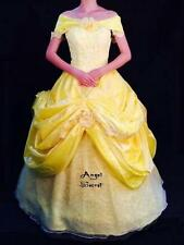 AP132 COSPLAY beauty and beast princess belle Costume tailor made kid adult GOWN