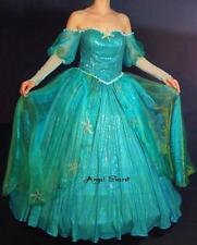 AP158 with sea star rhinestone Ariel gown dress Little mermaid
