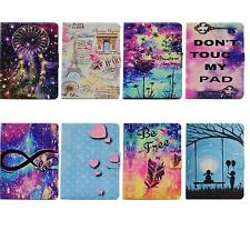 PU Leather Flip Card Slot Magnetic Closure Stand Auto Sleep Wake Case For Kindle