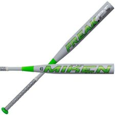 "Miken Freak Platinum 14"" Balanced ASA Slowpitch Softball Bat Green FKPTBA-17"