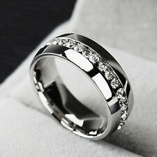 Stainless Steel Rings Finger Band Best Fashion Wedding Ring Jewelry Men Women
