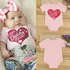 Newborn Clothes Infant Baby Boy Girl Short Sleeve Romper Bodysuit Jumpsuit Gifts