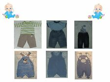 Baby Boys 0-3 Months Next Mothercare M&S Nutmeg Jeans Rompers Tops T-Shirt