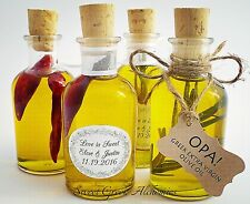 "10 pcs ""Favorite"" Olive Oil Favors (70ml / 2.4oz), Olive Oil Wedding Favors"