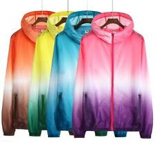 New Arrival Unisex Breaker Thin Wind Fashion Mix Color Cartoon Lovers Jacket
