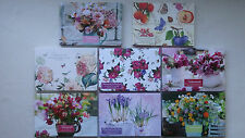 20 Beautiful Notecards with Envelopes (Choice of 8 Designs)