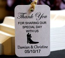 Personalised Wedding Favour, Wedding Thank You Gift Tags, Special Day, TGS14