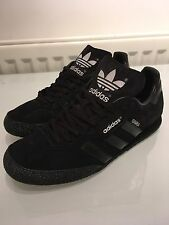 Adidas Samba Super Suede UK 9 Custom Blackout