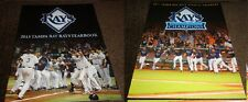 TAMPA BAY RAYS YEARBOOK~PICK A YEAR-----2011--2013