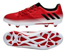 Adidas Men Cleats Messi 16.2 FG Soccer Football Red Shoes Sports Boots BA9144