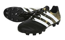 Adidas Men Cleats ACE 16.3 HG Leather Soccer Football Shoes Sports Boots S31905
