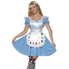 Sexy Alice Deck of Cards Girl Womens Ladies Fancy Dress Costume Outfit 39474