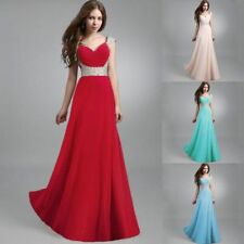 Long Dress Beaded Dress Formal Evening Prom Party Bridesmaid Ball Gown Cocktail