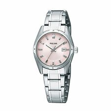 Pulsar Pink  Ladies Analog Casual Silver Watch PXT809