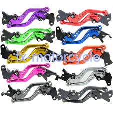 FXCNC Brake Clutch Levers Fit For YAMAHA YZF R6 05-15 YZF R1 04-08 R6S 2005