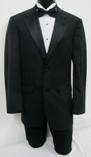 Black Tommy Hilfiger Tuxedo Jacket with Optional Pants Cruise Wedding Prom Mason