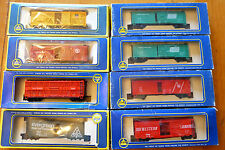 HO Scale ~ Individual AHM Rolling Stock Freight Cars